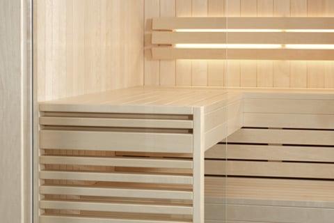 Sauna interior TylöHelo